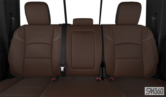 Cattle Tan/Black Leather Vented Bucket Seats (DJXT)