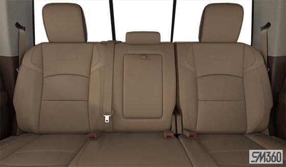 Mountain Brown/Light Frost Beige Leather Vented Bucket Seats (DJN6)