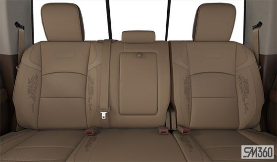 Mountain Brown/Light Frost Beige Leather Vented Bucket Seats w/Etching (XJN6)