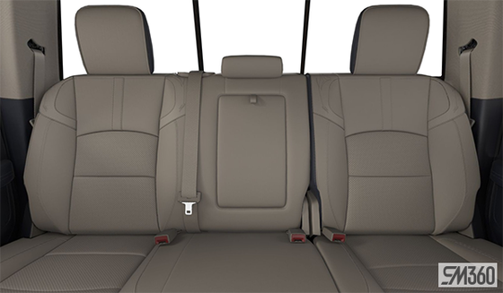 Light Frost Beige/Indigo Blue Leather Vented Bucket Seats (ULC1)