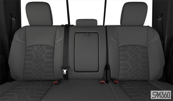 Diesel Grey/Black Cloth Bench w/Tread Pattern(S9X8)