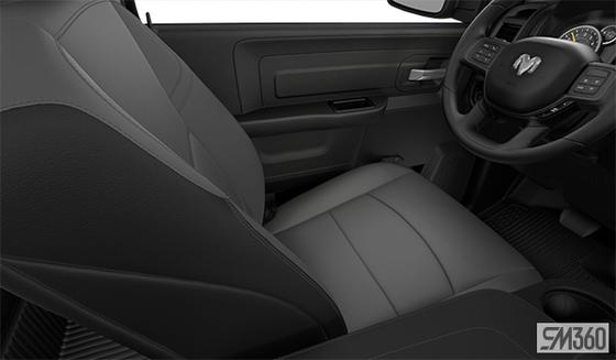 Diesel Grey/Black Heavy-duty Vinyl Bench Seat (TXX8)