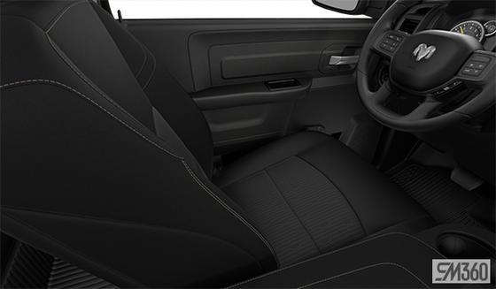 Diesel Grey/Black Cloth Bench Seat (V9X9)