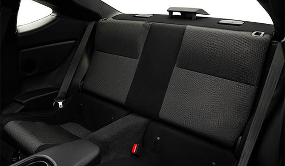 Black Alcantara Leather with Red Stitching