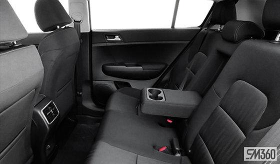 Black Cloth Seats