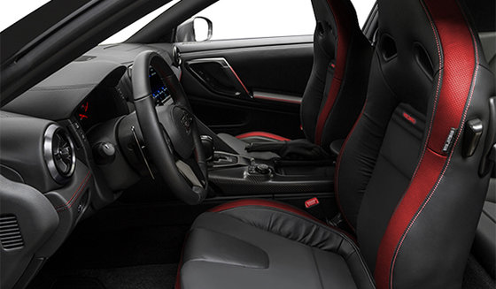 Black/Red Leather with Recaro Leather