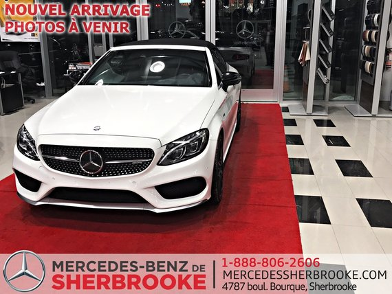 Mercedes-Benz C-Class 2017 AMG C 43 CABRIOLET, AMG PACK COUDUITE INTELLIGENTE