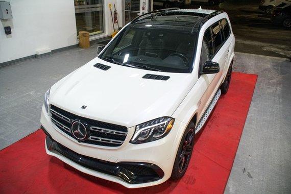 Mercedes-Benz GLS 2018 AMG GLS 63 MOTEUR V8 BITURBO