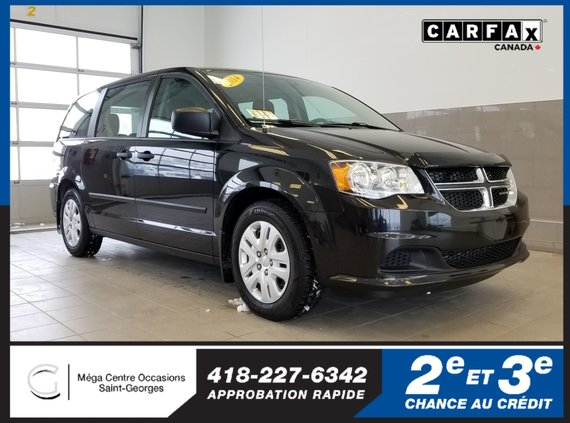 Dodge Grand Caravan SE // air climatisé // attache-remorque 2014