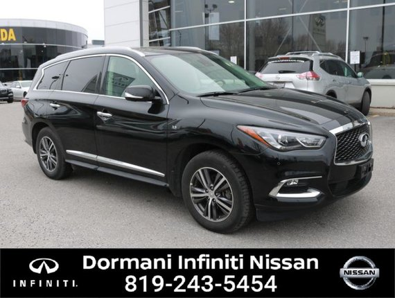 2019 Infiniti QX60 PURE AWD, LEATHER, 7 PASSENGER, NAVIGATION