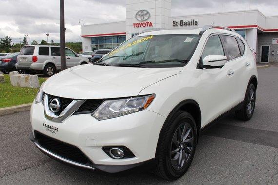 Nissan Rogue SL AWD GPS CAMERA RECUL CUIR SIEGES CHAUFFANTS 2016