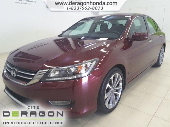 2013 Honda Accord Sedan SPORT+BAS KILO+BLUETOOTH+AIR CLIMATISE+MAGS