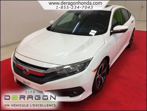 Honda Civic Sedan TOURING 1.5L TURBO + APPLE CARPLAY + ANDROID AUTO 2016