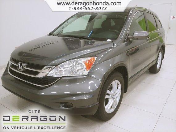 Honda CR-V EX-L+CUIR+SIEGES CHAUFFANTS+TOIT OUVRANT+MAG 2010