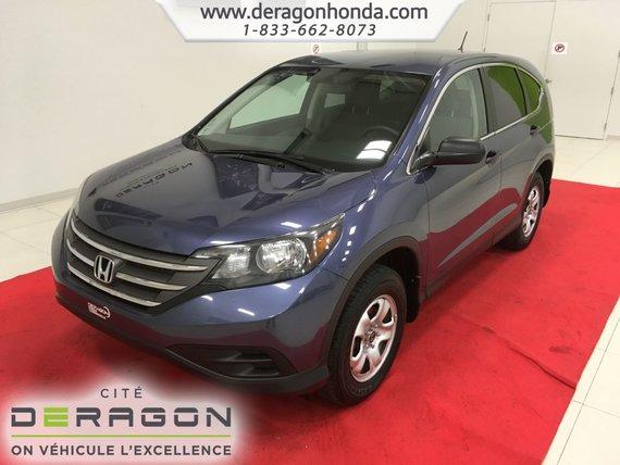 Honda CR-V LX + 4 ROUES MOTRICES + AUCUN ACCIDENT 2014
