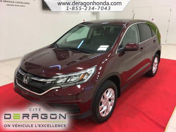 Honda CR-V SE + SEULEMENT 61 580 KM + AUCUN ACCIDENT 2015