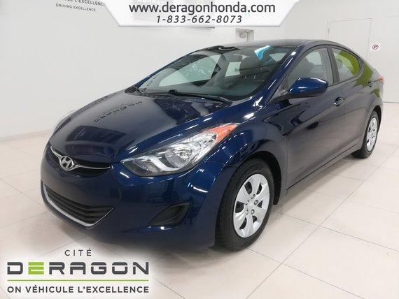 Hyundai Elantra L + AUTOMATIQUE + AUCUN ACCIDENT 2013