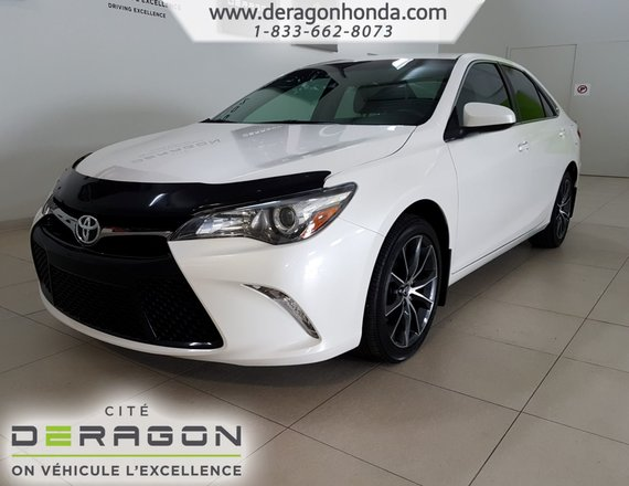 2015 Toyota Camry XSE+SIEGES ELEC.+CUIRE/SUEDE+DEMARREUR A DIST