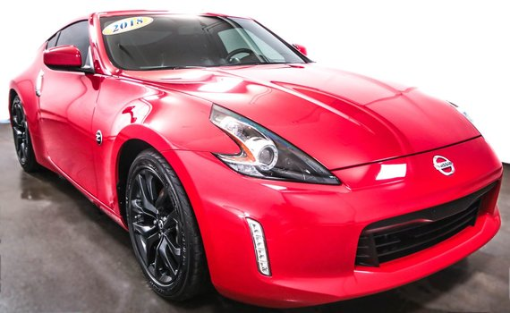 Nissan 370Z coupe Bluetooth Cruise V6 3.7L  Fog Mags 2018