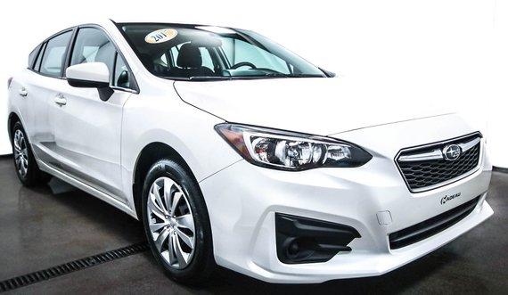 Subaru Impreza AWD  Convenience CAMÉRA RECUL BLUETOOTH 2017