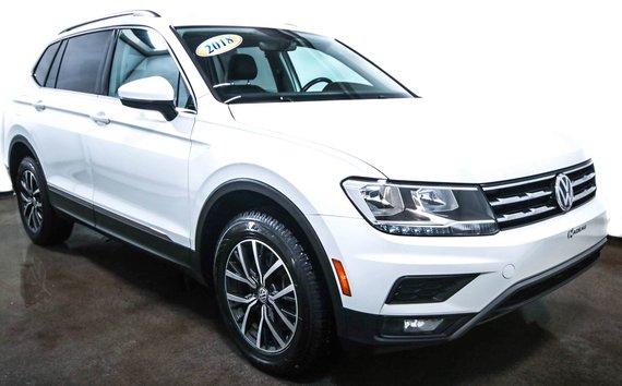 2018 Volkswagen Tiguan Comfortline  AWD  Toit  ouvrant  Camera