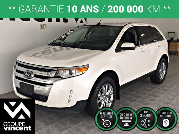 Ford Edge LIMITED AWD**GARANTIE 10ANS** 2011