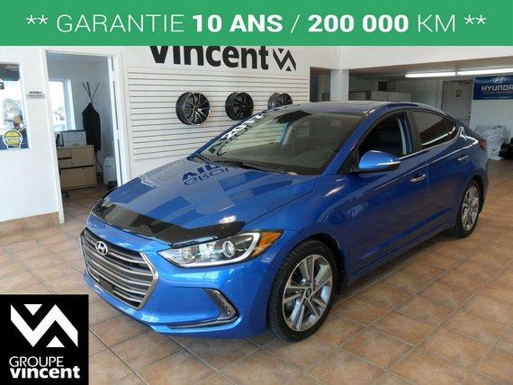 Hyundai Elantra LIMITED SE**GARANTIE 10 ANS** 2017