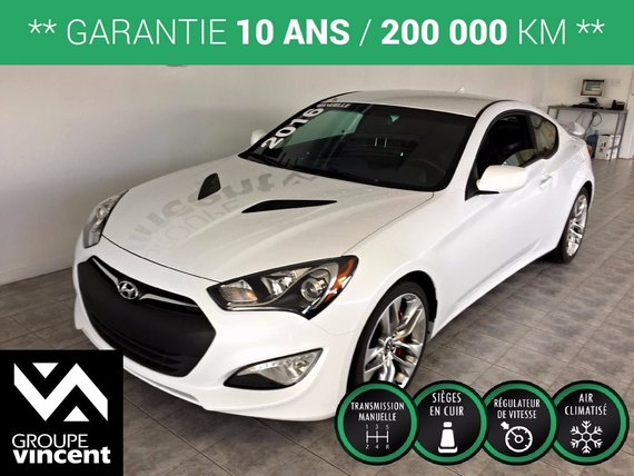 hyundai genesis coupe r spec 3 8l 350hp cuir brembo aileron 2016 d 39 occasion shawinigan. Black Bedroom Furniture Sets. Home Design Ideas