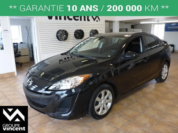 Mazda Mazda3 GX**GARANTIE 10 ANS** 2011