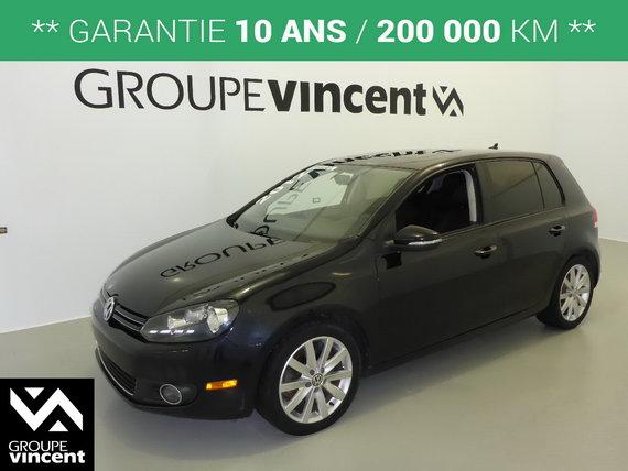 Volkswagen Trois Rivieres >> Volkswagen Golf Tdi Highline Garantie 10 Ans 2012 D