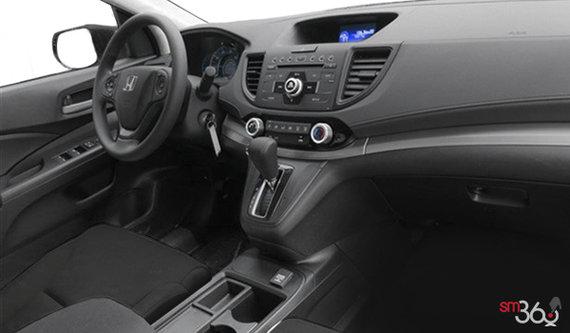 Interior View 2015 Honda CR V LX. Black Fabric; Grey Fabric. Black Fabric  Black Fabric Black Fabric
