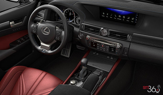 Circuit Red Leather
