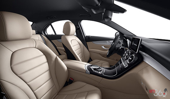 Black/Silk Beige Leather