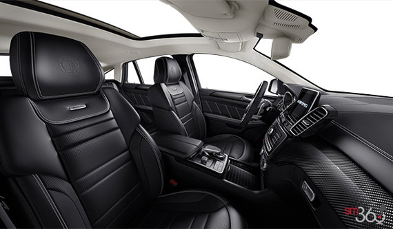 Black AMG Exclusive Nappa Leather w/Contrast Stitching