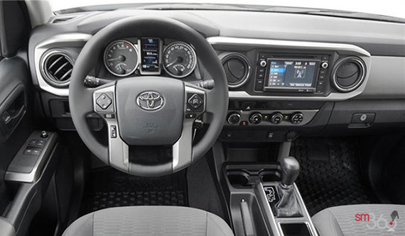 Interior View 2016 Toyota Tacoma 4X4 ACCESS CAB SR+. Grey Cloth. Grey Cloth  Grey Cloth Grey Cloth
