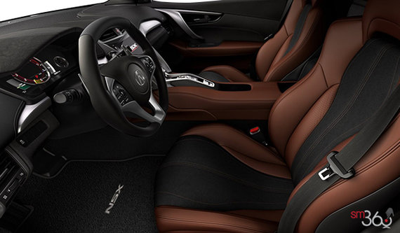 Dual Colour Saddle Semi-Aniline Leather