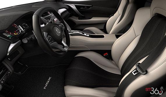 Dual Colour Seacoast Semi-Aniline Leather