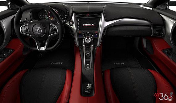 Dual Colour Red Semi-Aniline Leather