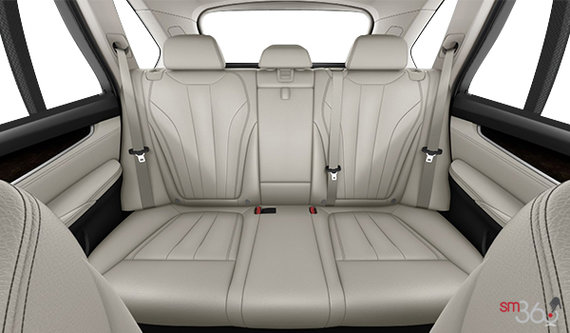 Ivory White Dakota Leather with black interior