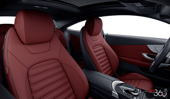 Cranberry Red Leather