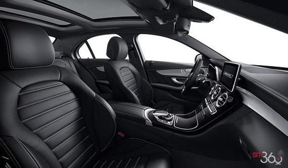 Black AMG Leather