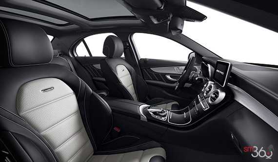 Black/Platinum Silver AMG Nappa Leather