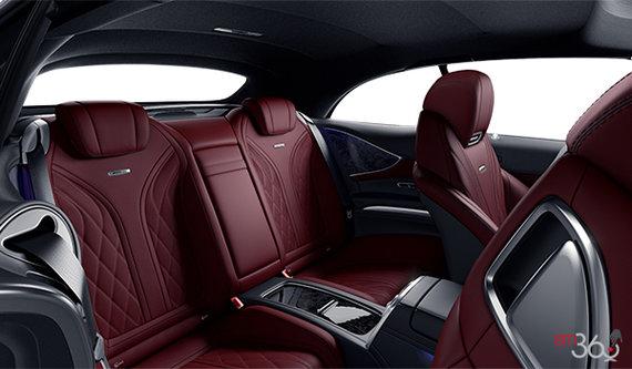 Bengal Red / Black designo Exclusive Nappa Leather