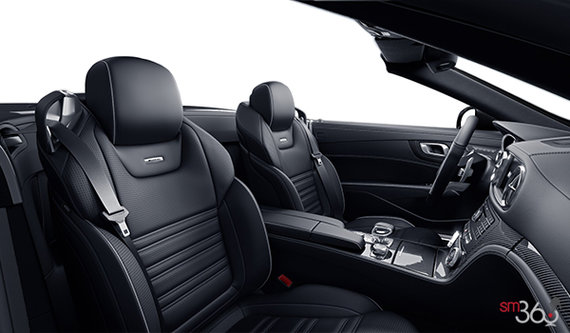 Black Nappa Leather Upholstery