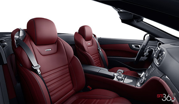 Bengal Red Nappa Leather Upholstery