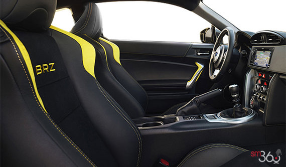 Onyx Black Leather/Alcantara w/Yellow Stitching