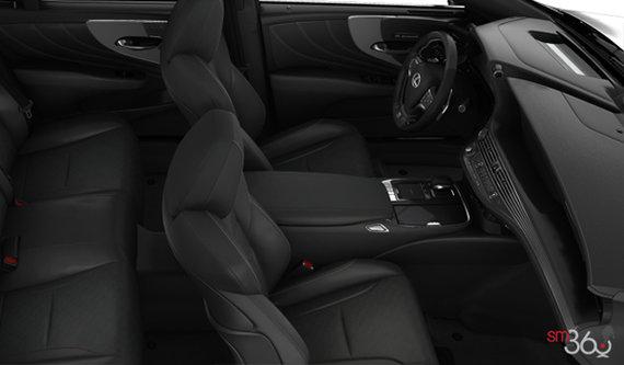 Black F Sport Leather