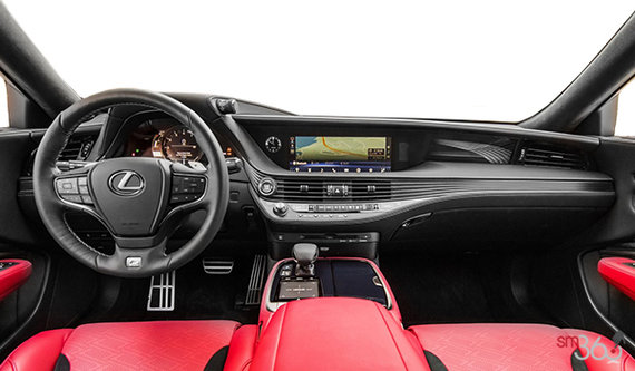 Circuit Red F Sport Leather