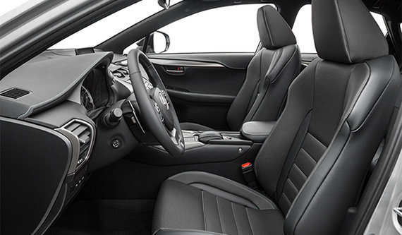 F-SPort Black Leather