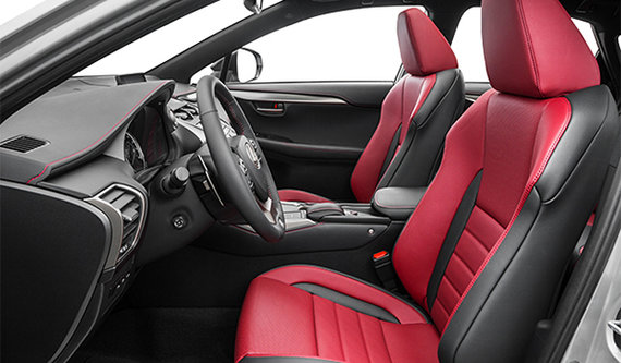 F-SPort Flare Red Leather